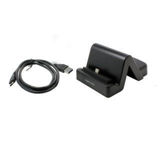 USB Tischladestation Dockingstation Typ C für Blackview S6